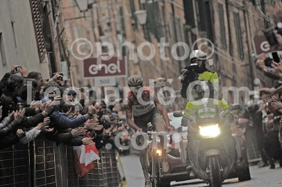 Cycling, Italy, Tuscany, Siena, Strade Bianche Pro race 2018, Tiesj Benoot DSC_5250 bis JPG copy
