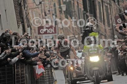 Cycling, Italy, Tuscany, Siena, Strade Bianche Pro race 2018, Tiesj Benoot DSC_5250 bis JPG copy