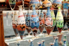 Egypt, Sharm el Sheikh, Naama Bay, market, hand made sand bottles