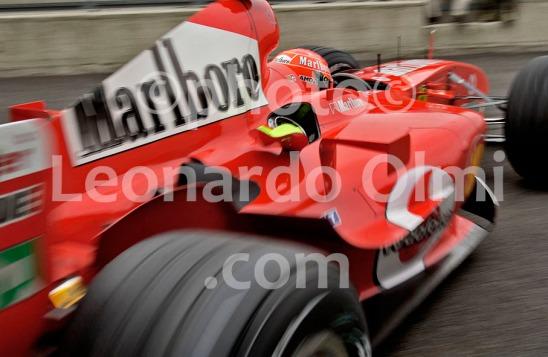 Formula1, Ferrai 2004, Michael Schumacher 2004, box DSC_4506 bis2 JPG copy