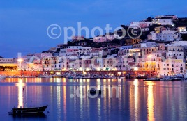 Italy, Ponza island, Ponza seaport at dusk DSC_0290 copy