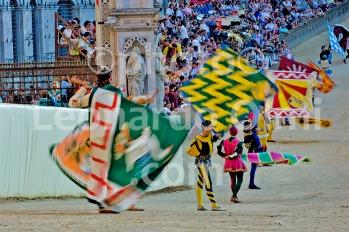 Italy, Siena, Palio, Piazza del Campo, flags DSC_7374 JPG2 copy