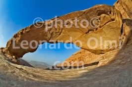 Jordan, Wadi Rum desert, natural arch DSC_7491 JPG2 copy