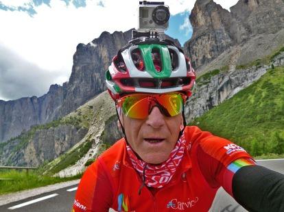 Leonardo Olmi, cycling, Dolomites, Italy, GoPro P1130063 bis JPG