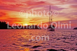 Myanmar, Mergui Archipelago, sailboat at sunset (54-8) bis JPG copy