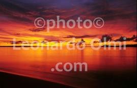 Papua Nuova Guinea, Lissenung island, tramonto (23-7) TIF copia copy