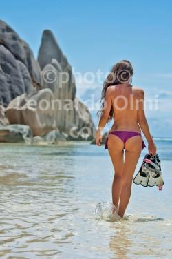 Seychelles, La Digue, Anse Source d'Argent, beach, snorkeling DSC_9768 JPG copy