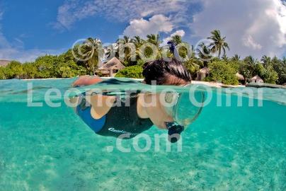 Snorkeling, Maldives islands, Nika Island Resort DSC_2322 JPG copy