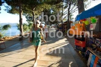 Croatia, Brač island, Bol, girl shopping DSC_5118 TIF copia copy