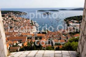Croatia, Hvar island, Hvar city from fortress DSC_3895 TIF copia copy
