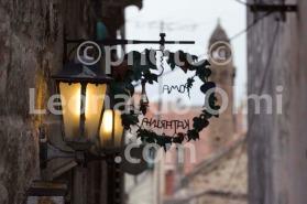 Croatia, Hvar island, Hvar city, narrow road DSC_3936 TIF copia copy