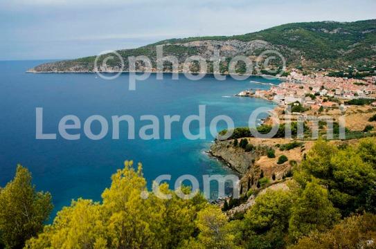 Croatia, Vis island, Komiža, panoramic view DSC_0614 TIF copia copy