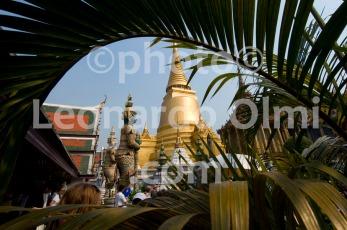 Thailand, Bangkok, Grand Palace, golden pagoda DSC_0081 TIF copia copy