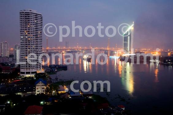 Thailand, Bangkok, Montien Riverside Hotel, rievr view DSC_0275 TIF copia copy