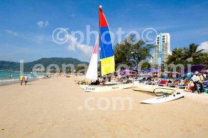 Thailand, Phuket island, Patong Beach, catamarans DSC_0094 TIF copia copy