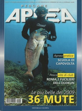 Apnea, May 2009, cover by Leonardo Olmi