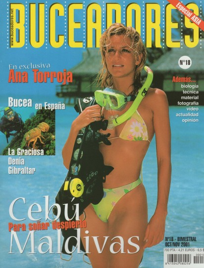 Buceadores, Oct-Nov 2011, cover by Leonardo Olmi