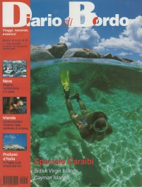 Diario di Bordo, December 2001, cover by Leonardo Olmi