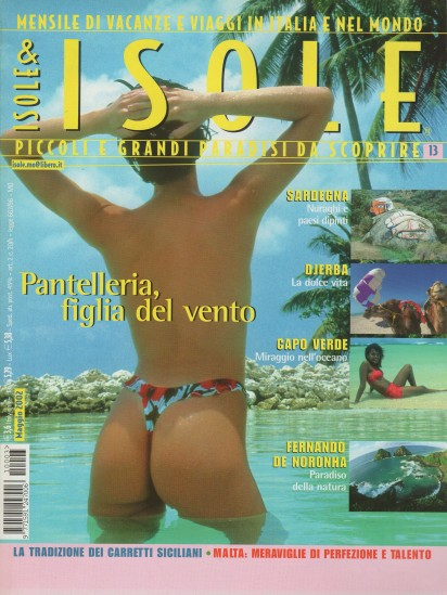 Isole&Isole, April-May 2002, cover by Leonardo Olmi