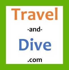 Logo Travel-Dive_2bis_bianco_quadrato_bis2