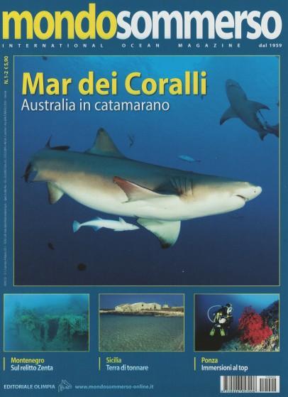 Mondo Sommerso, Jan-Feb 2011, cover by Leonardo Olmi