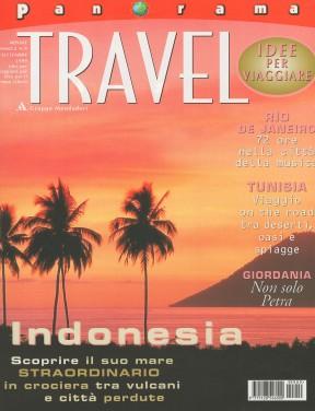 Panorama Travel, September 1999, cover by Leonardo Olmi
