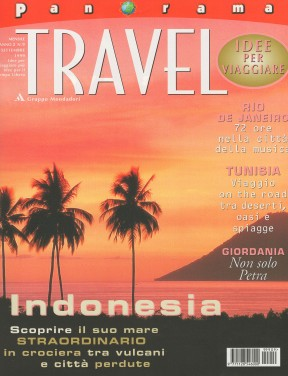 Panorama Travel, September 1999, cover by Leonardo Olmi