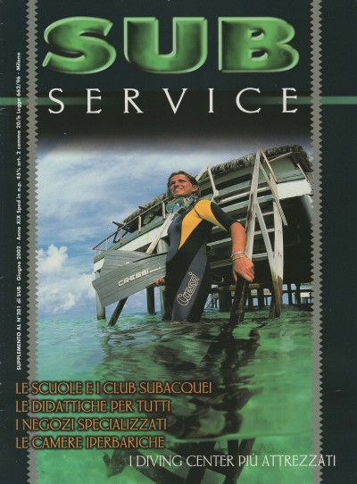 SUB, June 2002, cover by Leonardo Olmi