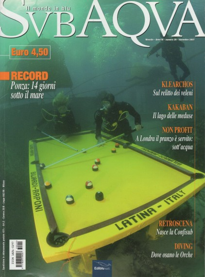 SubAqva, November 2007, cover by Leonardo Olmi