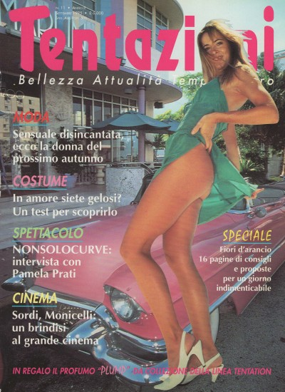 Tentazioni, September 1995, cover by Leonardo Olmi