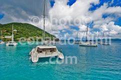 British Virgin Islands_Jost Van Dike_Great Harbour_beach_catamaran_boats_DSC_5269 JPG copy